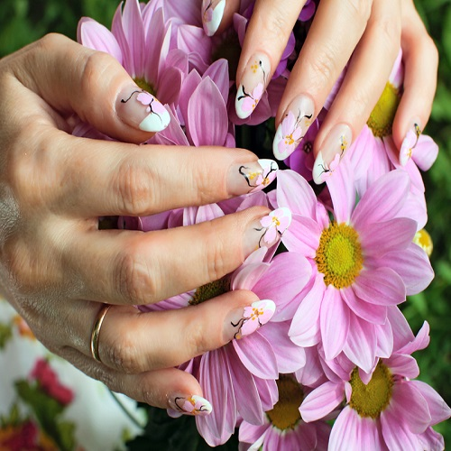 ADDITIONAL CHARGES WITH YOUR MANICURE OR PEDICURE